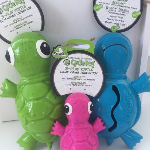 Cycle Dog squeaky Turtle dog toy