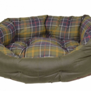 Barbour wax cotton slumber bed