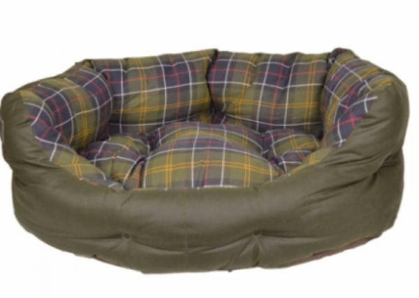 Barbour wax cotton slumber bed