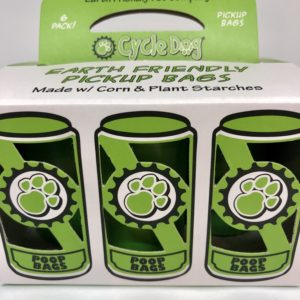 Cycle Dog compostable pick up bags refill pack made from corn and starches