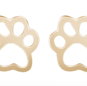 Earring stugs cute dog paws
