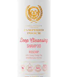 Pampered Pooch Rosehip dog shampoo