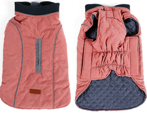 Quilted Dog coat for Autumn and winter
