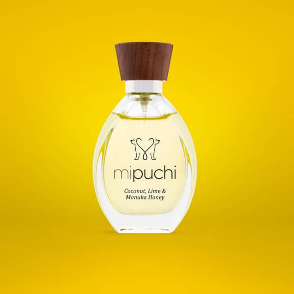 mipuchi cocnut lime and manuka honey perfume for dogs