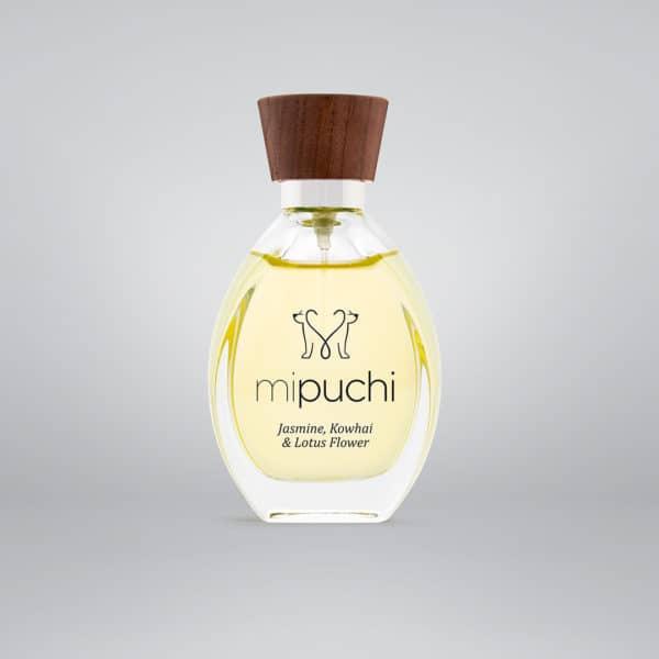 mipuchi Jasmine, Kowhai, Lotus Flower perfume for dogs