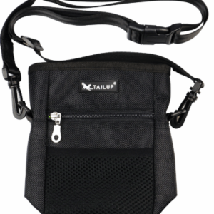 Tail Up dog treat bag for training or carrying essentials when out walking your dog.