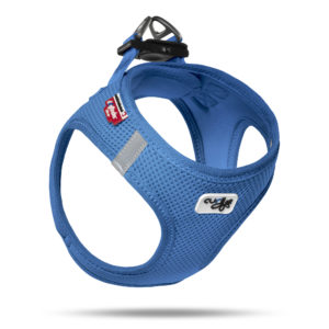 Curli Air Mesh comfort harness blue