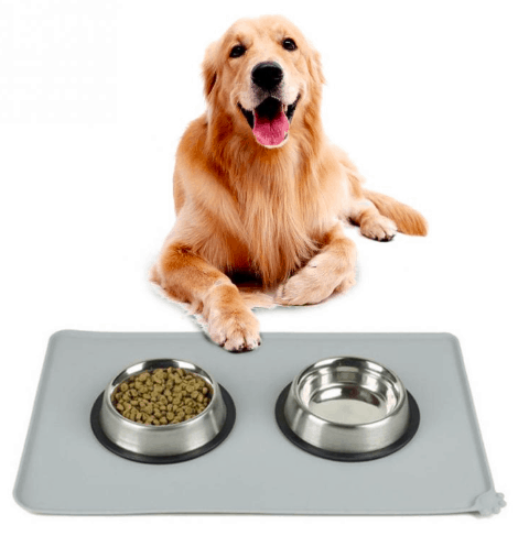 Silicone pet bowl mat