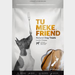 Tu Meke Friend dog treats Lamb chews