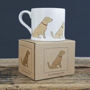 Golden Labrador mug - Mischievous Mutt