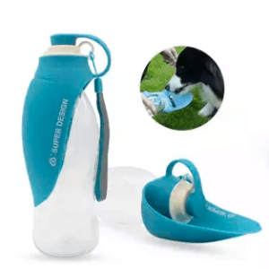 Super Design leaf dog water bottle