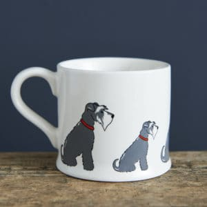 Schnauzer mug - beautiful gift for a schnauzer lover.
