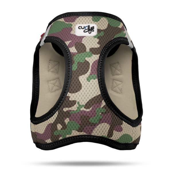 Curli comfort step in no pull dog vest harness Swiss design ,Camo