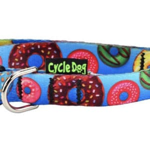 Cycle Dog dog collar eco weave Donut's collar made from plastic bottles