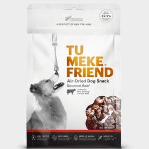 Tu Meke Friend Air Dried Dog Snack Gourmet Beef 150gm
