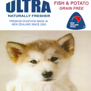 Ultra Premium dog food Fish and Potato