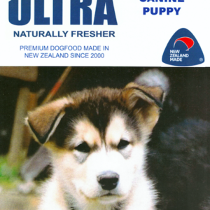 Ultra Premium Puppy Food made in New Zealand