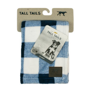 Tall Tails dog blanket soft fleece Hunters Navy