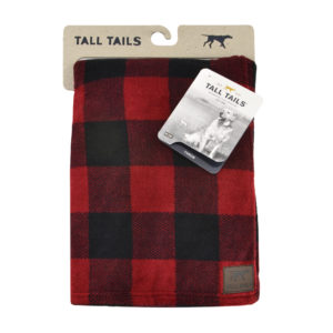 Tall Tails dog blanket soft fleece Hunters Plaid throw