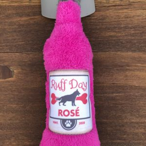 Cycle Dog Brew Gear Duraplush dog toy wine