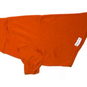 Mr Soft Top dog Merino Tee Burnt Orange