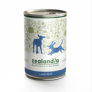 Zealandia Lamb Pate grain free dog food 385g