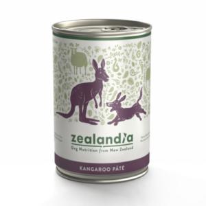 Zealandia Wild Kangaroo Pate Grain Free dog food 385g