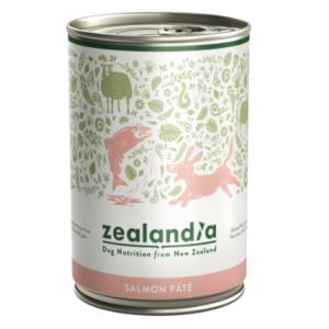 Zealandia Salmon Pate grain free dog food 385g