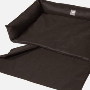 Danish Design Dog Boot Bed Black